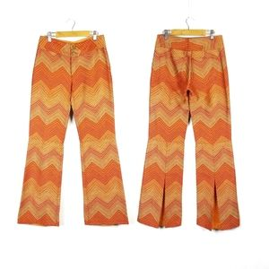 Alice + Olivia Retro Flared Trousers